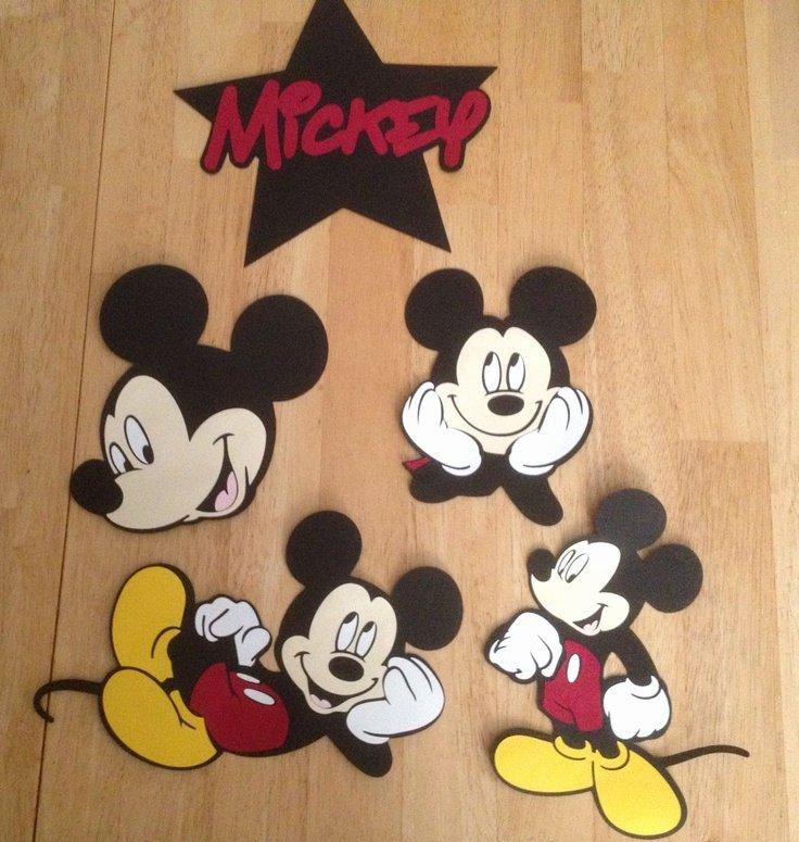 Free Printable Mickey Mouse Cutouts New Mickey Mouse Cutouts Mickey Party
