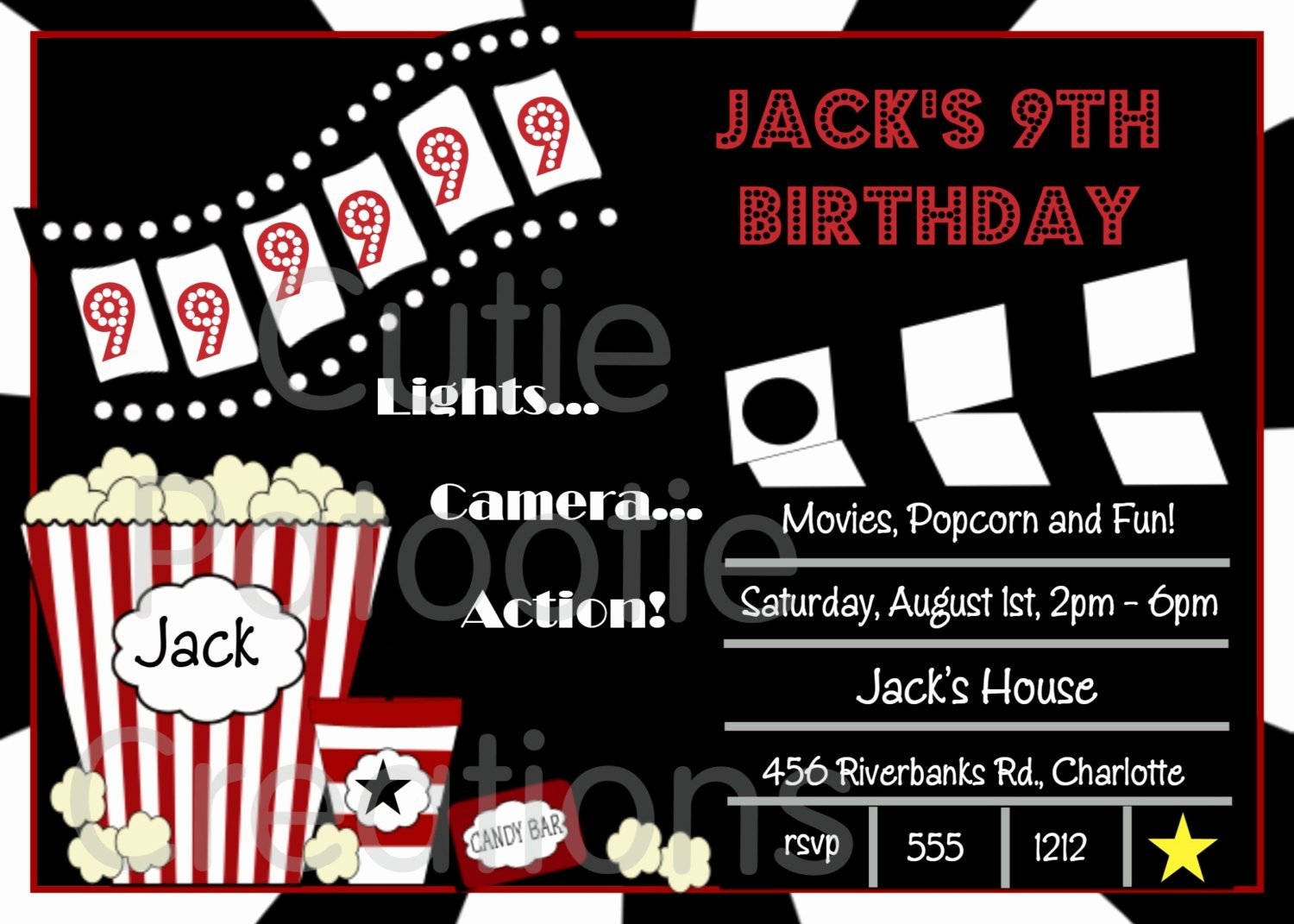 Free Printable Movie Ticket Invitations Elegant Free Movie Ticket Invitation Template Free Excel Template