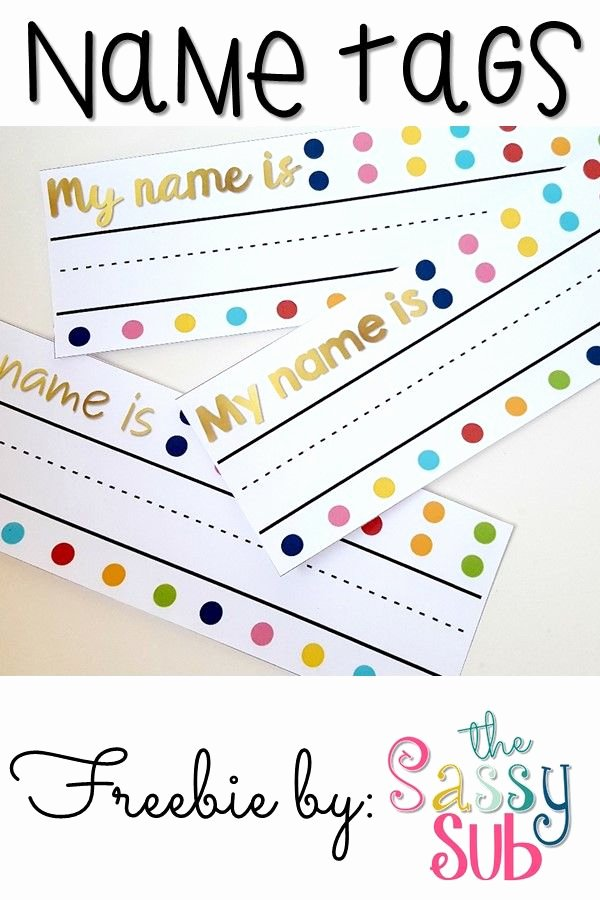 Free Printable Name Tags for Preschoolers Beautiful Best 25 School Name Tags Ideas On Pinterest