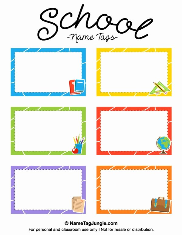 Free Printable Name Tags for Preschoolers Beautiful Pin by Muse Printables On Name Tags at Nametagjungle