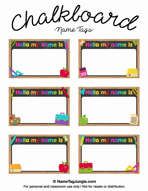 Free Printable Name Tags for Preschoolers Best Of Pin by Muse Printables On Name Tags at Nametagjungle