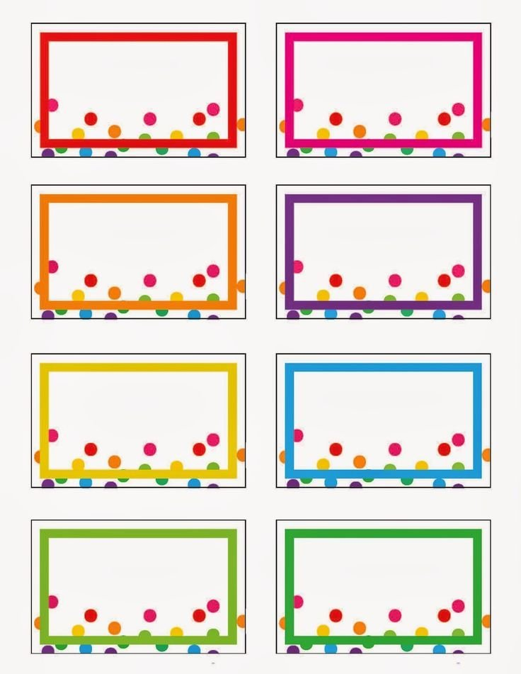 Free Printable Name Tags for Preschoolers Best Of Rainbow Party Printables Free by Everyday Art