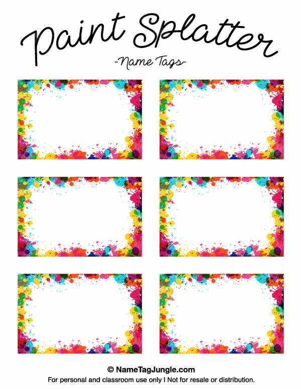 Free Printable Name Tags for Preschoolers Fresh Pin by Muse Printables On Name Tags at Nametagjungle