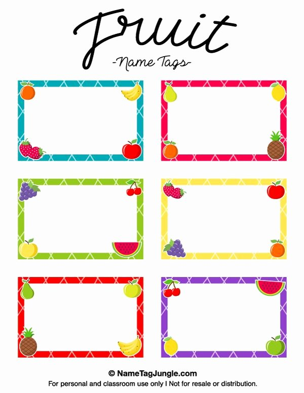 Free Printable Name Tags for Preschoolers New Pin by Muse Printables On Name Tags at Nametagjungle