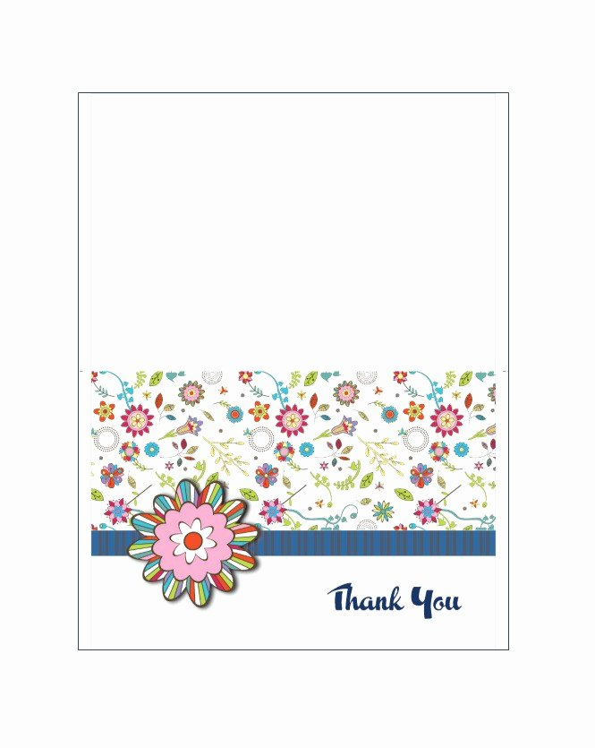 Free Printable Note Card Template Awesome 30 Free Printable Thank You Card Templates Wedding