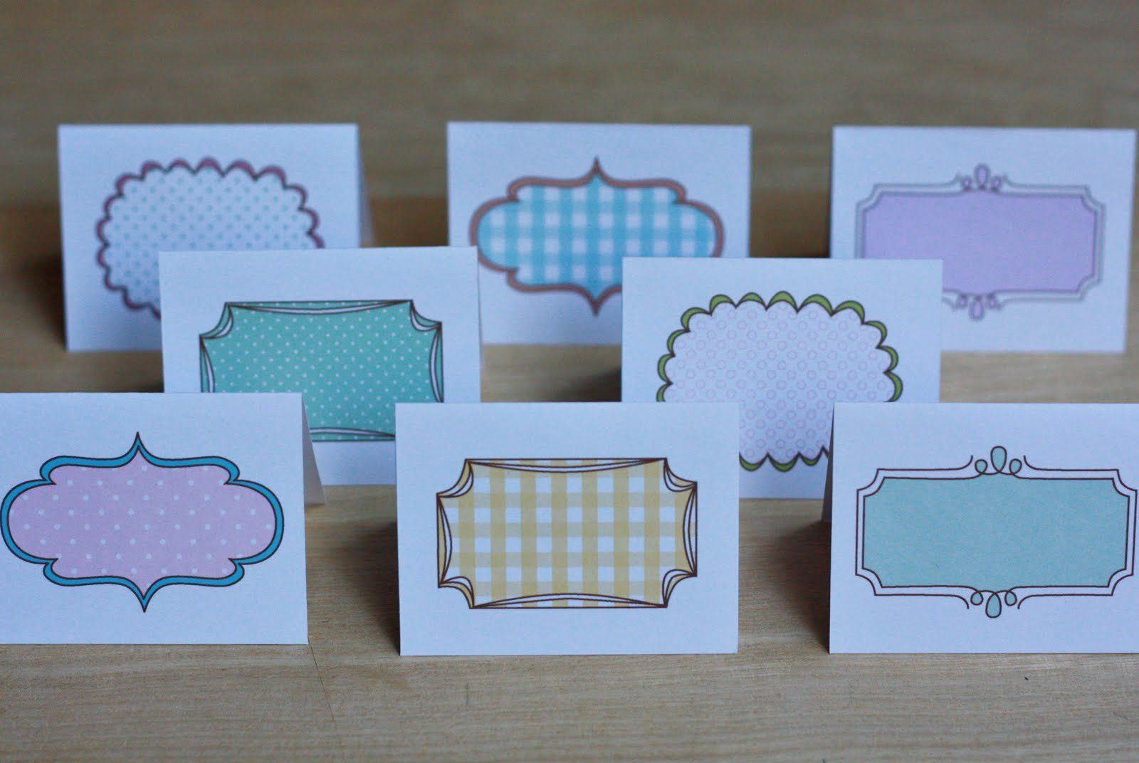 Free Printable Note Card Template Elegant Amy J Delightful Blog Printable Note Cards Place Cards
