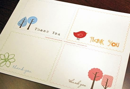 Free Printable Note Card Template Luxury 25 Beautiful Printable Thank You Card Templates Xdesigns