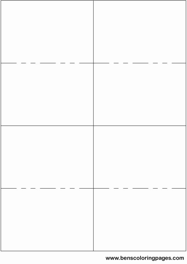 Free Printable Note Card Template Unique Printable Small Flashcard Template