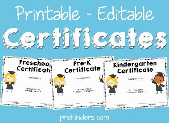 Free Printable Preschool Graduation Program Templates Awesome 77 Best Slp Certificate Freebies Images On Pinterest