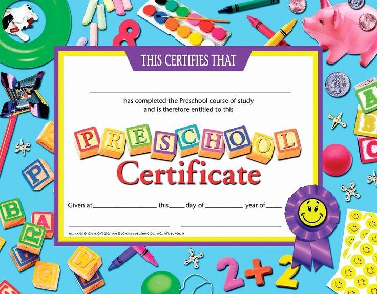 Free Printable Preschool Graduation Program Templates Beautiful Certificate Schule Und Zeugnisse Pinterest