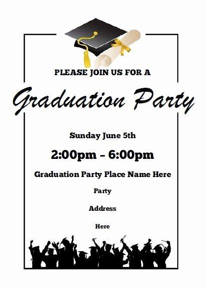 Free Printable Preschool Graduation Program Templates Best Of Graduation Party Invitations Free Printable
