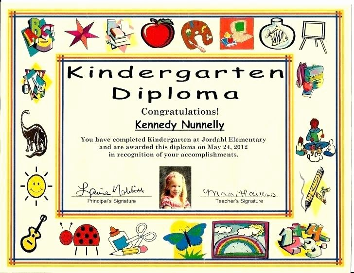 Free Printable Preschool Graduation Program Templates Luxury Kindergarten Graduation Diplomas