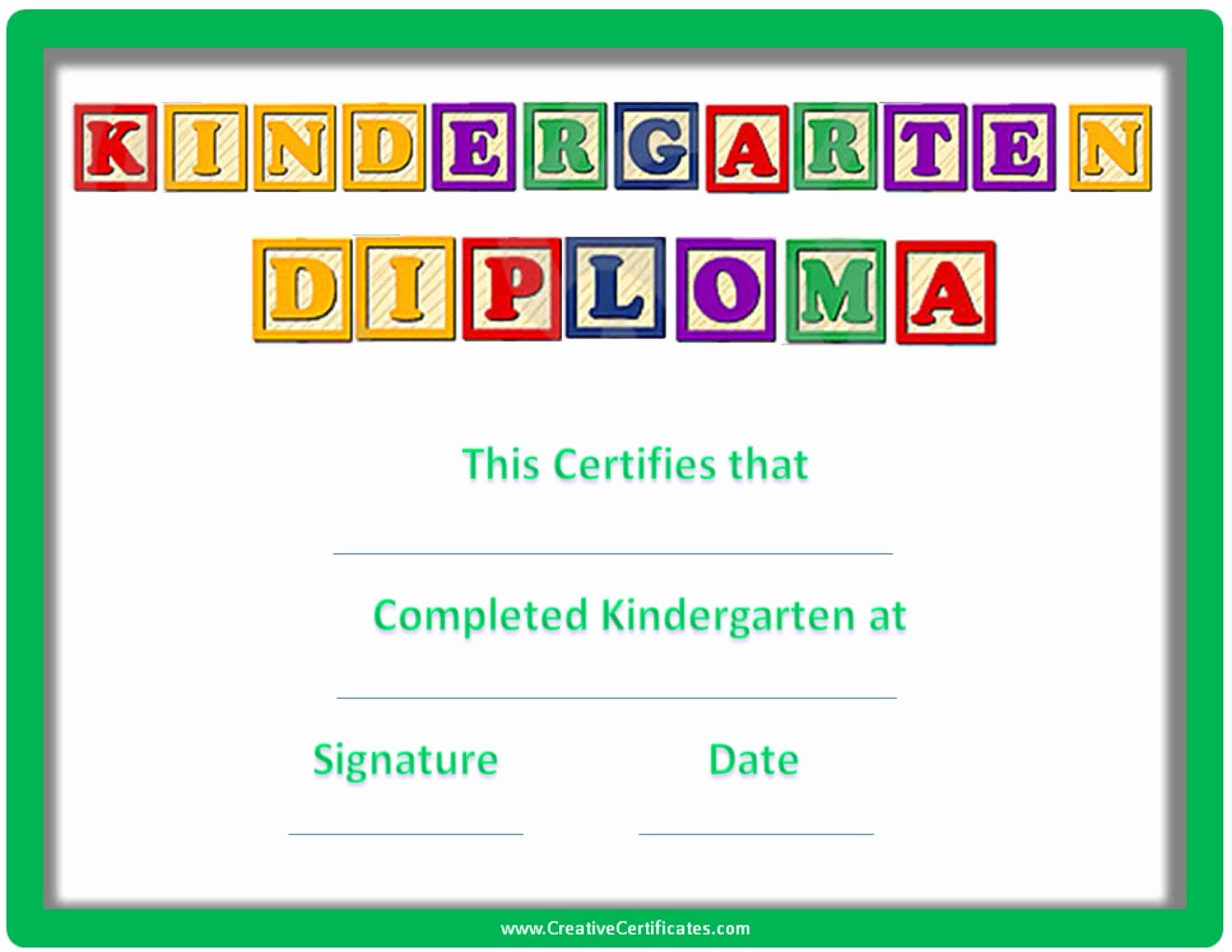 Free Printable Preschool Graduation Program Templates Unique Free Custom Kindergarten Graduation Certificates