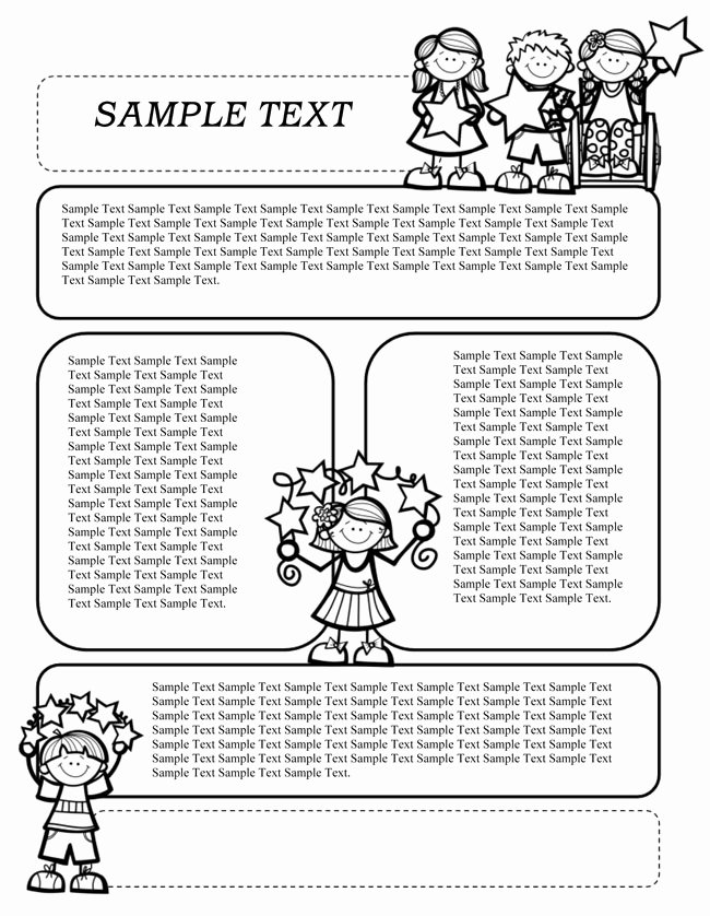 Free Printable Preschool Newsletter Templates Elegant 16 Preschool Newsletter Templates Easily Editable and