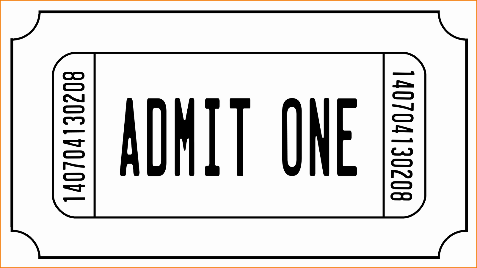 Free Printable Raffle Tickets with Stubs Best Of 6 Ticket Templates