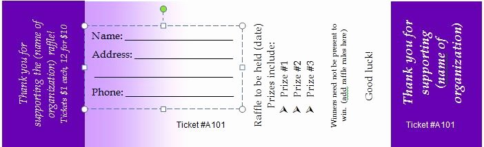 Free Printable Raffle Tickets with Stubs Inspirational Free 5 Printable Numbered Diaper Raffle Ticket Template