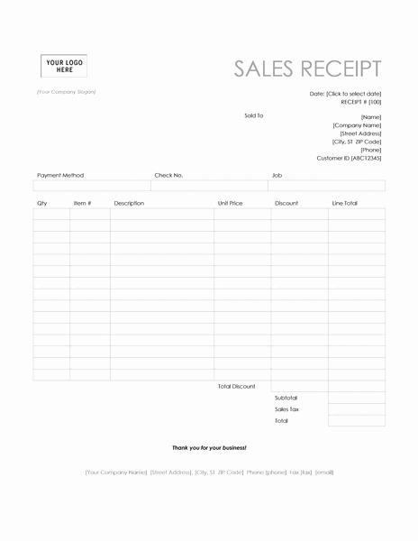 Free Printable Sales Receipt Elegant Receipt Templates Archives Microsoft Word Templates