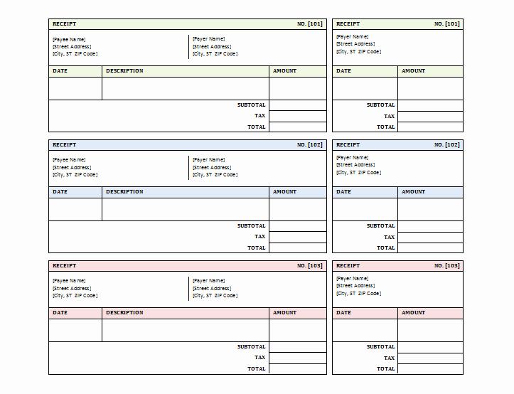 Free Printable Sales Receipt Fresh 12 Free Sales Receipt Templates Word Excel Pdf