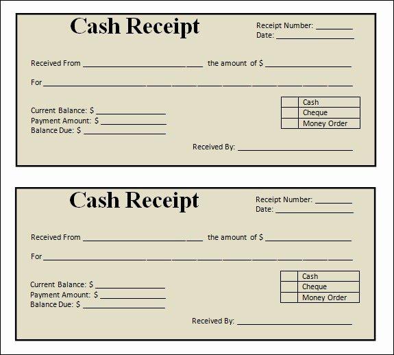 Free Printable Sales Receipt Lovely Blank Receipt Template