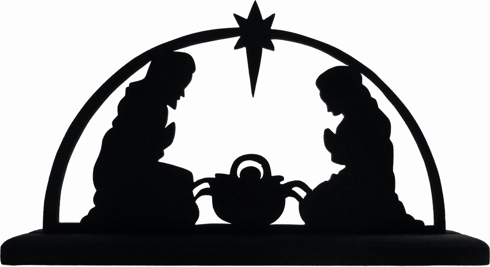 Free Printable Silhouette Of Nativity Scene Beautiful Nativity Scene Silhouette Vinyl