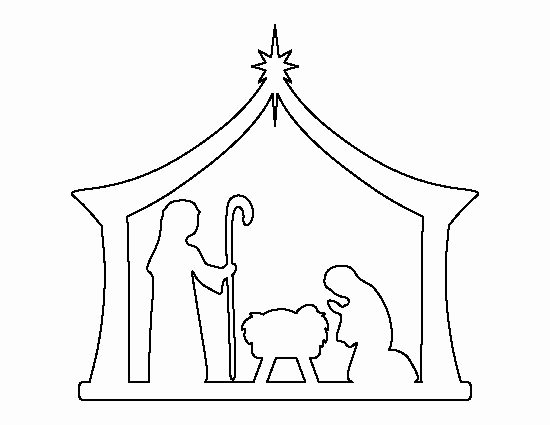 Free Printable Silhouette Of Nativity Scene New Pin by Muse Printables On Printable Patterns at