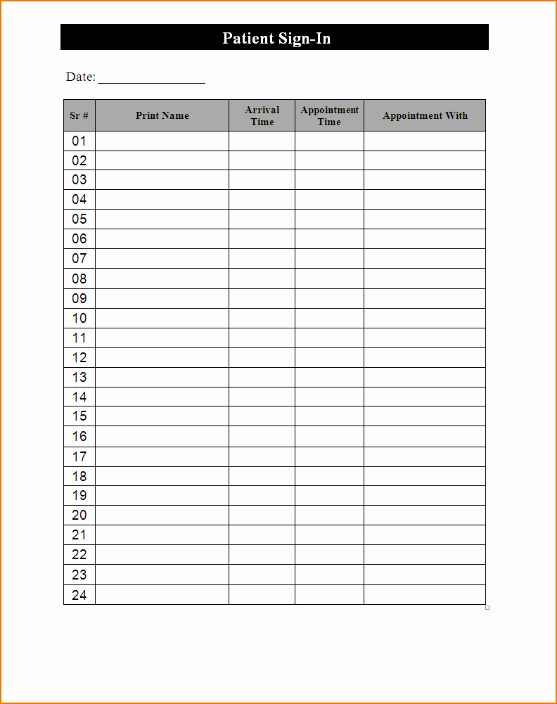 Free Printable Snack Sign Up Sheet Fresh 3 Free Sign Up Sheet Template