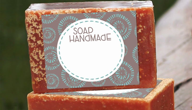 Free Printable soap Label Templates Beautiful Free Handmade soap Label Printables Customlabels