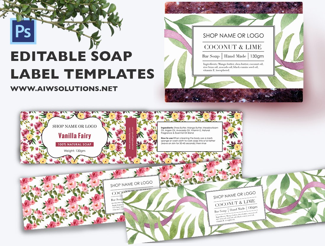 Free Printable soap Label Templates Best Of soap Label Template Id48