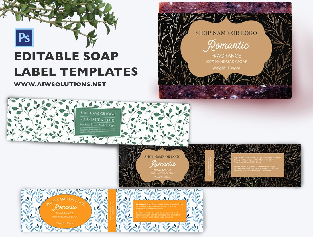 Free Printable soap Label Templates Elegant soap Label Template Id49