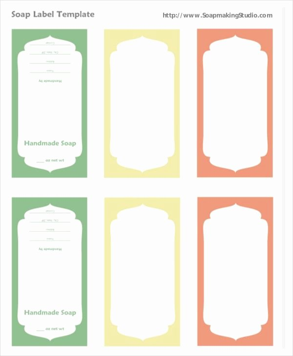 Free Printable soap Label Templates Unique soap Label Template Label Template 16 Free Word Pdf Psd