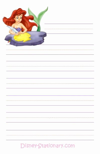 Free Printable Stationery Pdf Inspirational Free Printable Disney Stationary Writing Paper