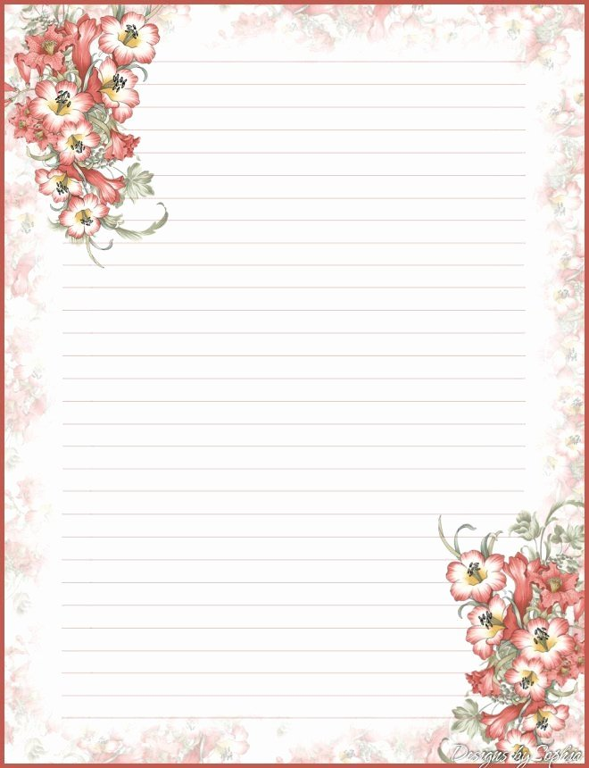 Free Printable Stationery Pdf Luxury Best 25 Free Printable Stationery Ideas On Pinterest