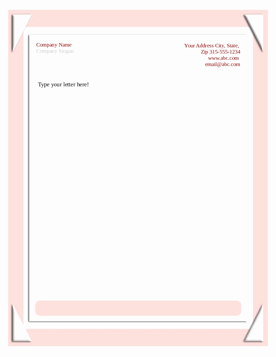 Free Printable Stationery Pdf Unique 2019 Business Letterhead Templates Fillable Printable