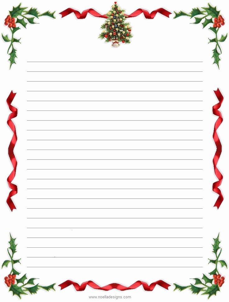 Free Printable Stationery Template Beautiful Free Printable Christmas Letterhead Printable Pages