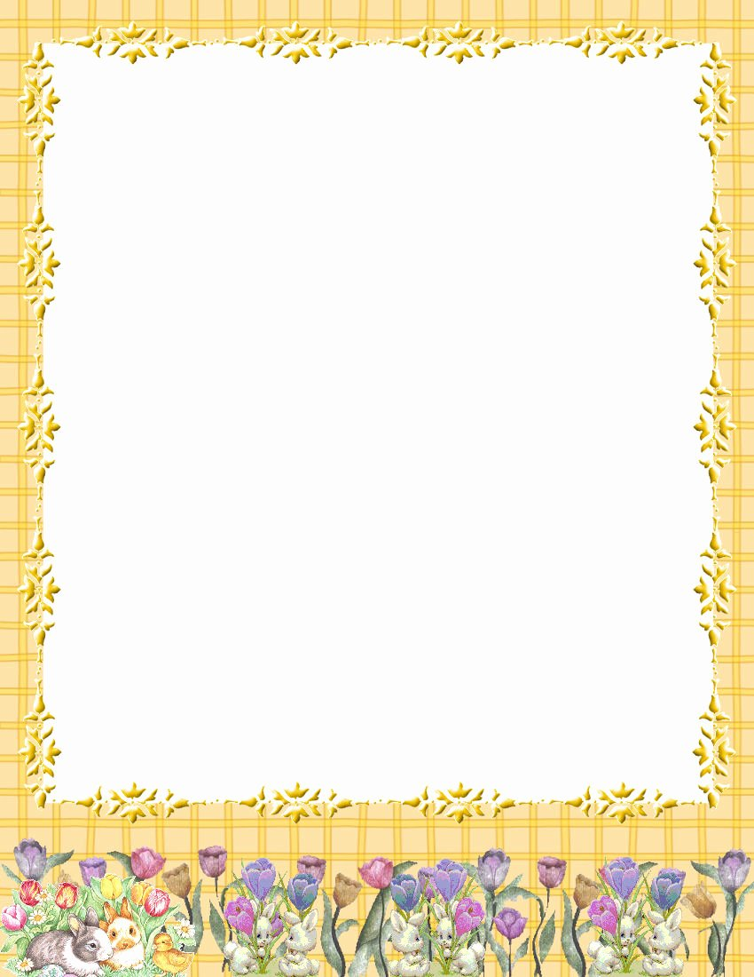 Free Printable Stationery Template New Easter Stationery theme Free Digital Stationery