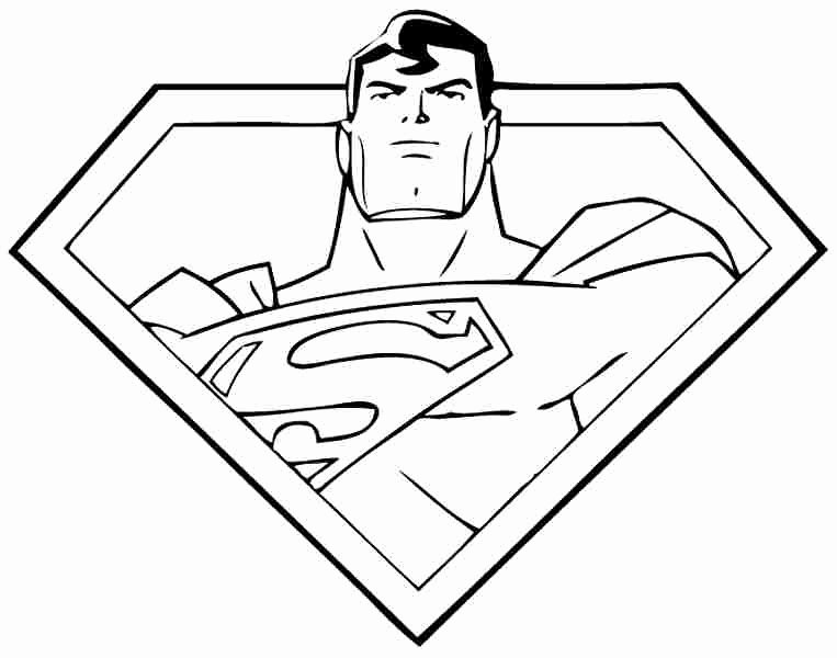Free Printable Superman Template Awesome Superman Symbol Coloring Sheets Printable Coloring Pages