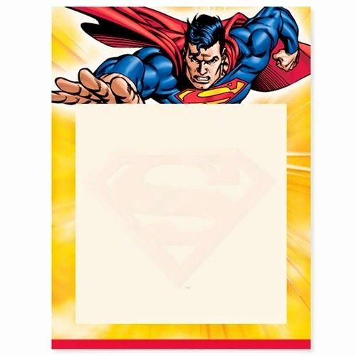 Free Printable Superman Template Beautiful Superman Free Printable Invitations Frames or Cards
