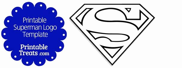 Free Printable Superman Template Best Of Printable Superman Logo Template Halloween