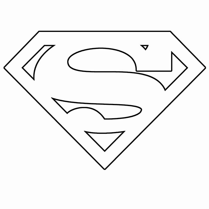 Free Printable Superman Template Lovely Free Free Printable Superman Logo Download Free Clip Art