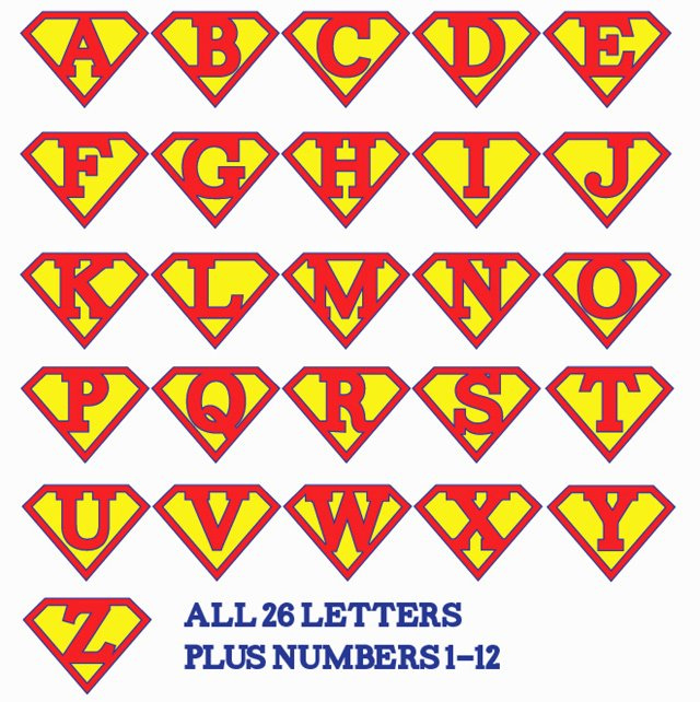 Free Printable Superman Template Lovely Printable Superman Birthday Banner for A Super Hero