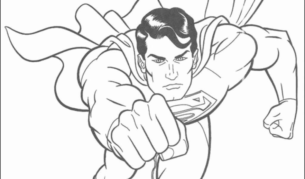 Free Printable Superman Template Lovely Printable Superman Coloring Pages Coloring Sheet 53