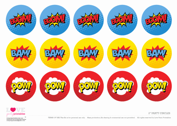 Free Printable Superman Template New Free Superhero Party Printables