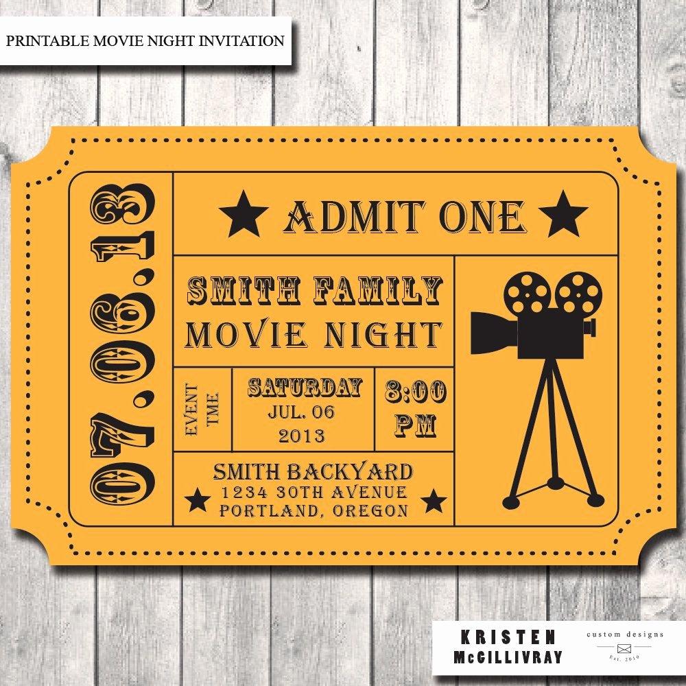 Free Printable Ticket Stub Template Elegant Free Printable Movie Ticket Template Blank Ticket Stub