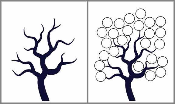 Free Printable Tree Template Best Of Free Tree Templates Printable with A Bare Tree Children