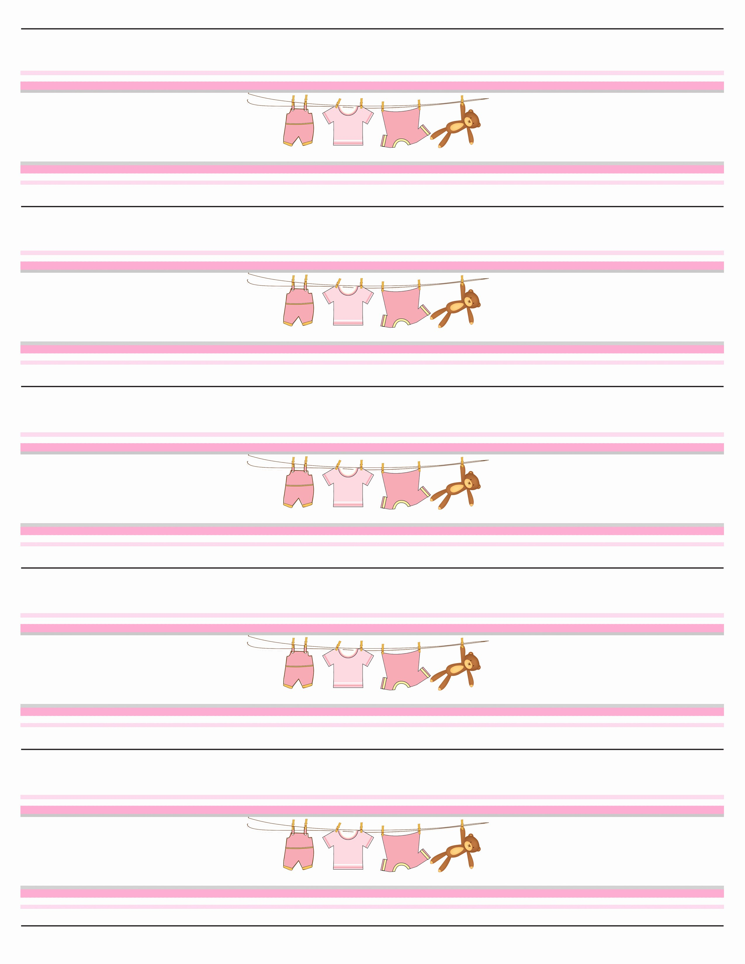 Free Printable Water Bottle Labels for Baby Shower Best Of Baby Girl Shower Free Printables How to Nest for Less™