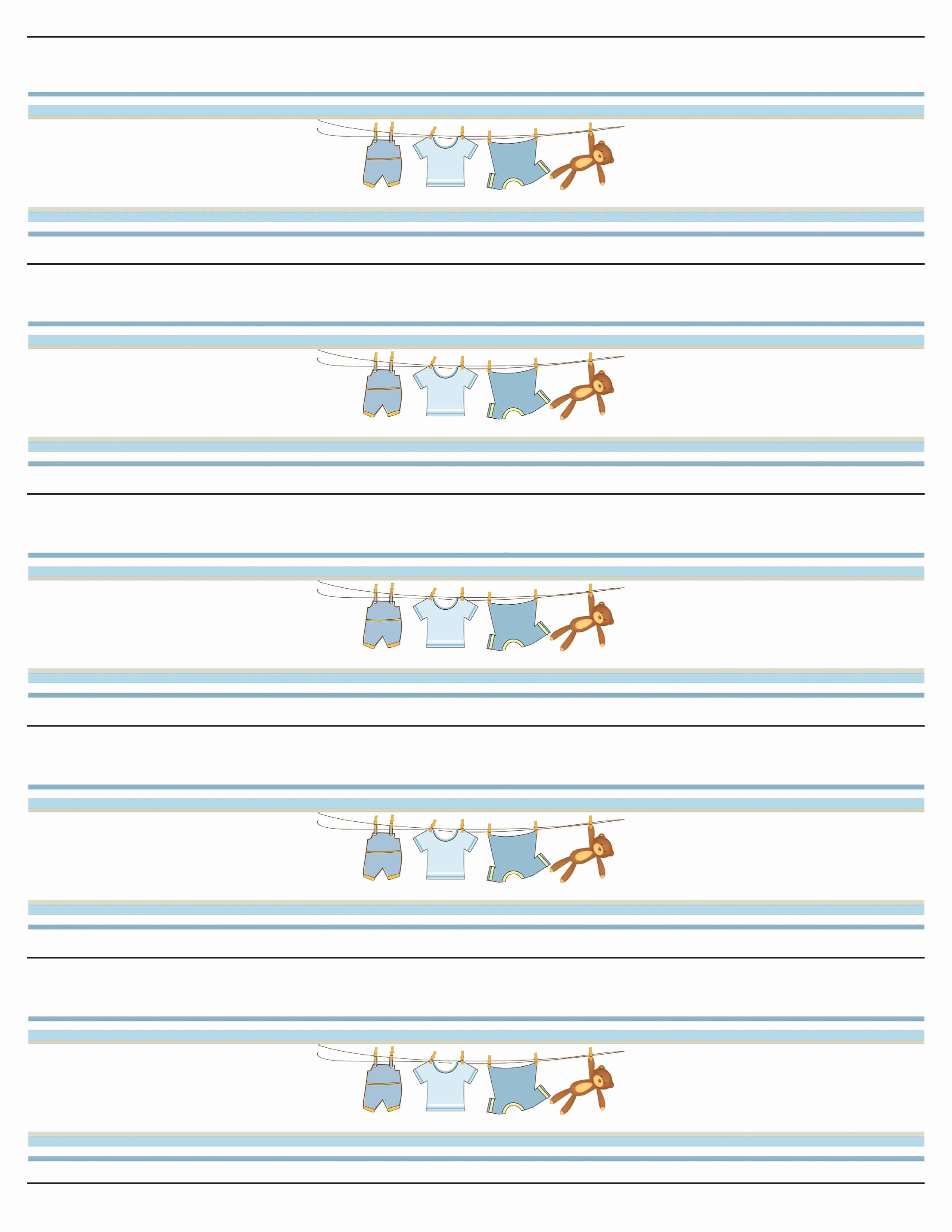 Free Printable Water Bottle Labels for Baby Shower Fresh Boy Baby Shower Free Printables How to Nest for Less™