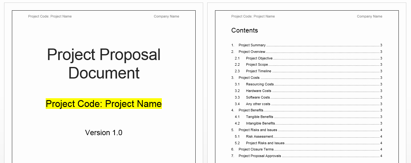 Free Proposal Template Word Beautiful Project Proposal Template Free Project Management Templates