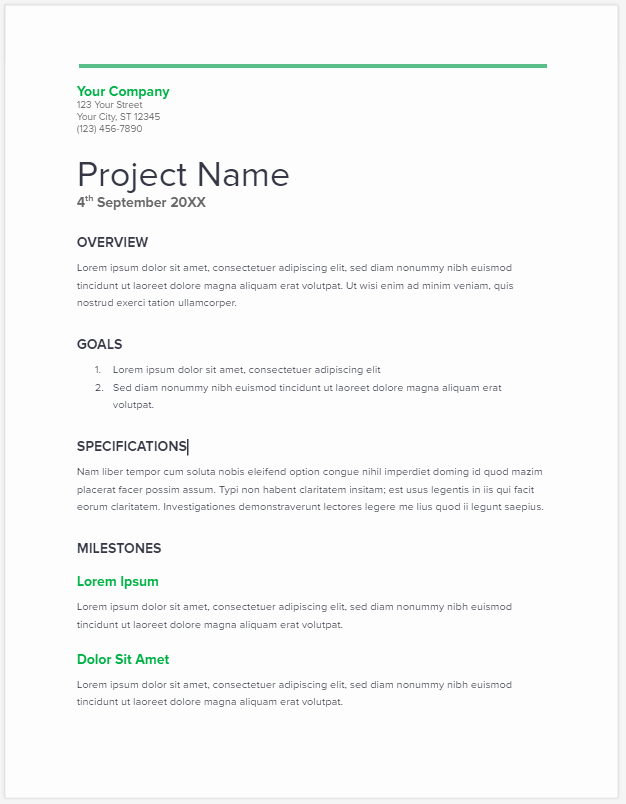 Free Proposal Templates for Word Awesome 20 Free Project Proposal Template Ms Word Pdf Docx