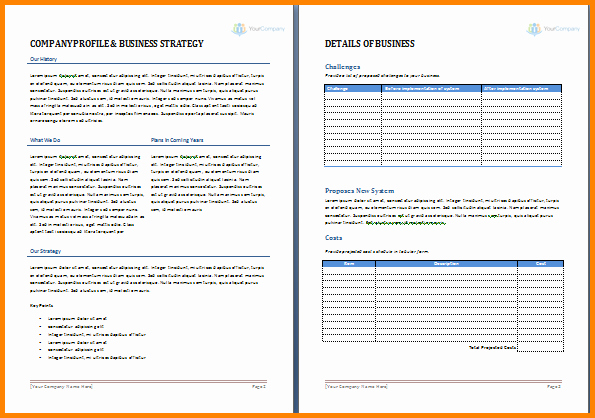 Free Proposal Templates for Word Fresh Microsoft Word Proposal Templates Salonbeautyform