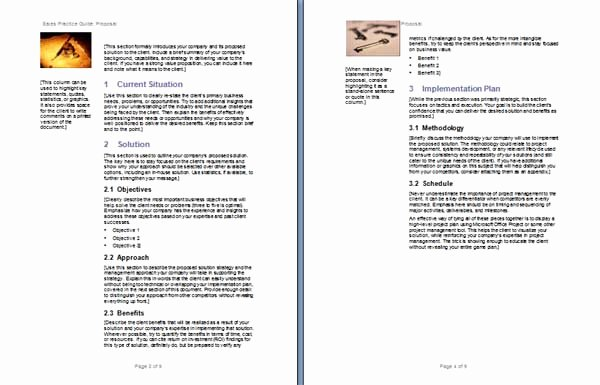 Free Proposal Templates for Word Luxury Proposal Template Microsoft Word Templates